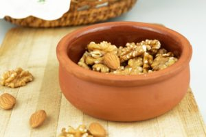One of the best breakfasts foods for athletes is nuts and seeds