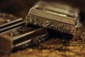 chocolate and stress