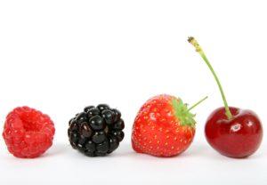 Inflammation food: berries