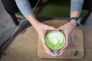 inflammation food: matcha