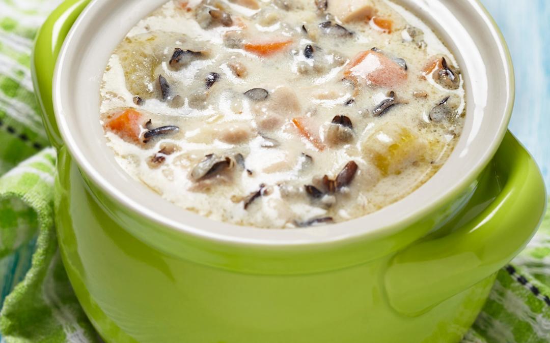 Cauliflower Wild Rice Soup