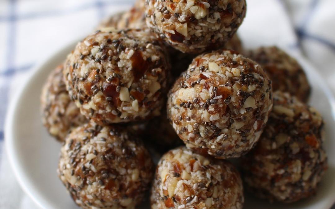 Coconut Maca Energy Balls