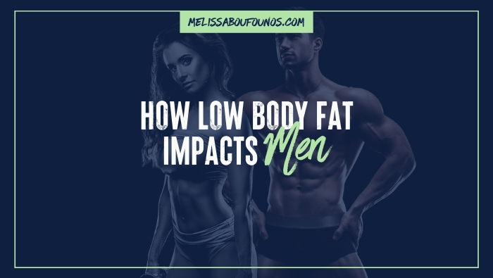 RED-S and Very Low Body Fat in Male Athletes