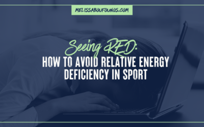Seeing Red: Relative Energy Deficiency in Sports