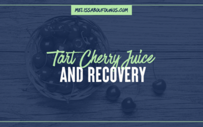 Tart Cherry Juice and Recovery